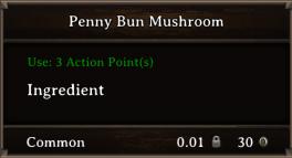 DOS Items CFT Penny Bun Mushroom