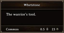 DOS Items Tools Whetstone
