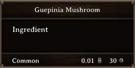 DOS Items CFT Guepinia Mushroom