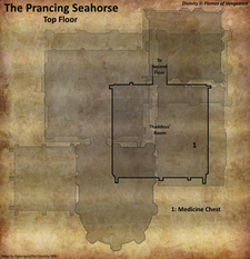 Prancing Seahorse top floor map (D2 FoV location)