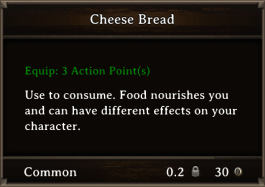 DOS Items FnD Cheese Bread