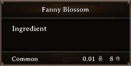 DOS Items CFT Fanny Blossom