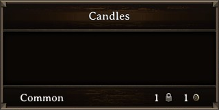 DOS Items Misc Candles Stats