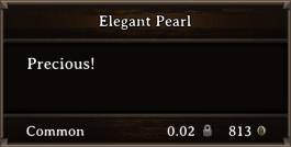 DOS Items Precious Elegant Pearl