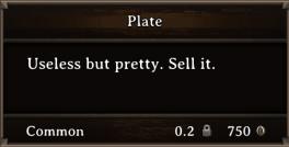 DOS Items Precious Plate