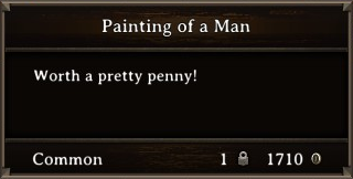 DOS Items Precious Painting of a Man3 Stats