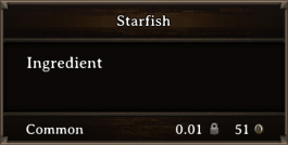 DOS Items CFT Starfish 2