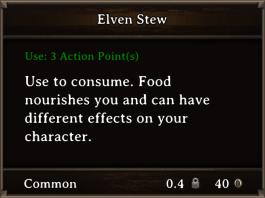 DOS Items FnD Elven Stew