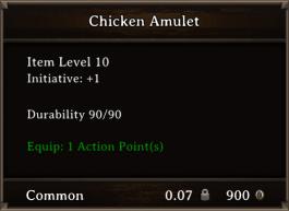 DOS Items CFTX 10.5 Chicken Amulet