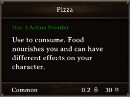 DOS Items FnD Pizza