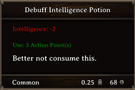 DOS Items Pots Debuff Intelligence Potion
