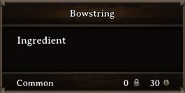 DOS Items CFT Bowstring