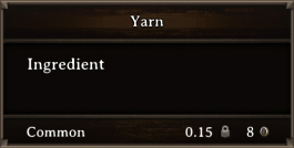 DOS Items CFT Yarn