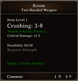 DOS Items Misc Broom