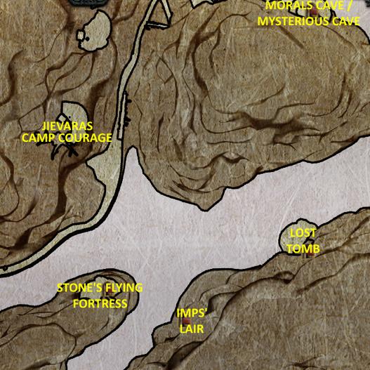 Divinity 2 Jievaras map