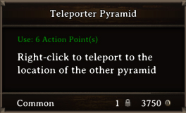 DOS Items Quest Teleporter Pyramid