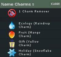 Charms name