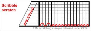 Scribble scratch example