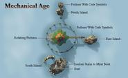 Mechanical map