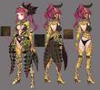 Green dragon sorceress