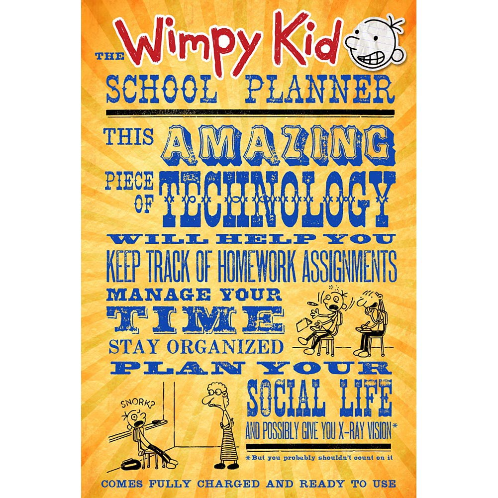 how to get diary of a wimpy kid font