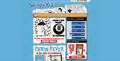 Wimpy KId Club