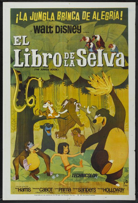 el libro de la selva doblaje wiki fandom powered by wikia
