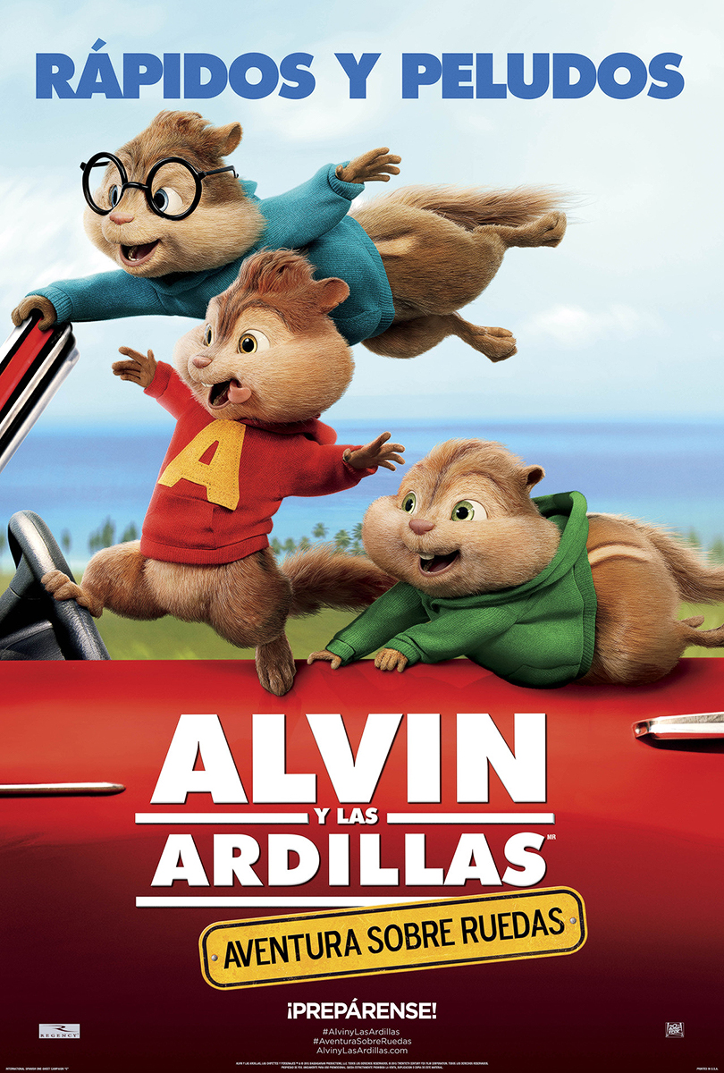 Alvin y las ardillas aventura sobre ruedas doblaje wiki for Alvin y las ardillas