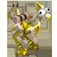 Almond and Golden Dragoturkey