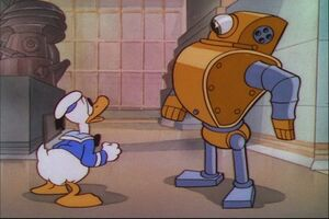 Donald Duck - Modern Inventions (1937) - YouTube