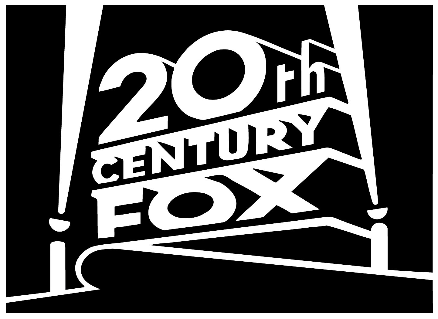 Dream Logo Variations: 20th Century Fox Goes Black and White and Gets Snowed On!