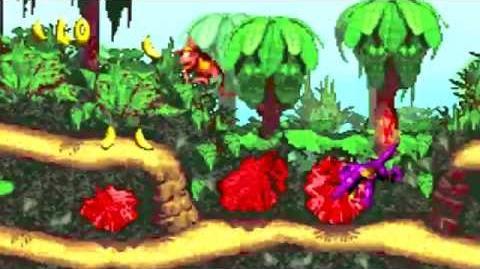 Donkey Kong Country (GBA) - Kongo Jungle - Jungle Hijinxs-0