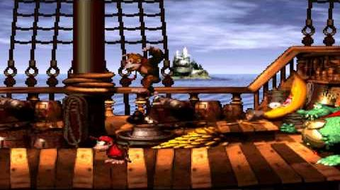 Donkey Kong Country (SNES) - Gang-plank Galleon