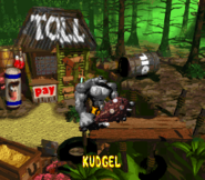 Kudgel Credits Screen - Donkey Kong Country 2