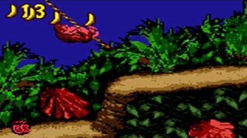 Donkey Kong Country (GBC) - Kongo Jungle - Ropey Rampage