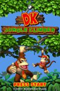 DK - Jungle Climber Title Screen