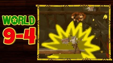 Donkey Kong Country Returns 3D - 9-4 Mischievous Moles All Puzzle Pieces