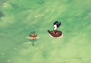 Sea Trap at sea