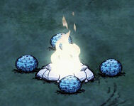 Thermal Stones Fire Pit