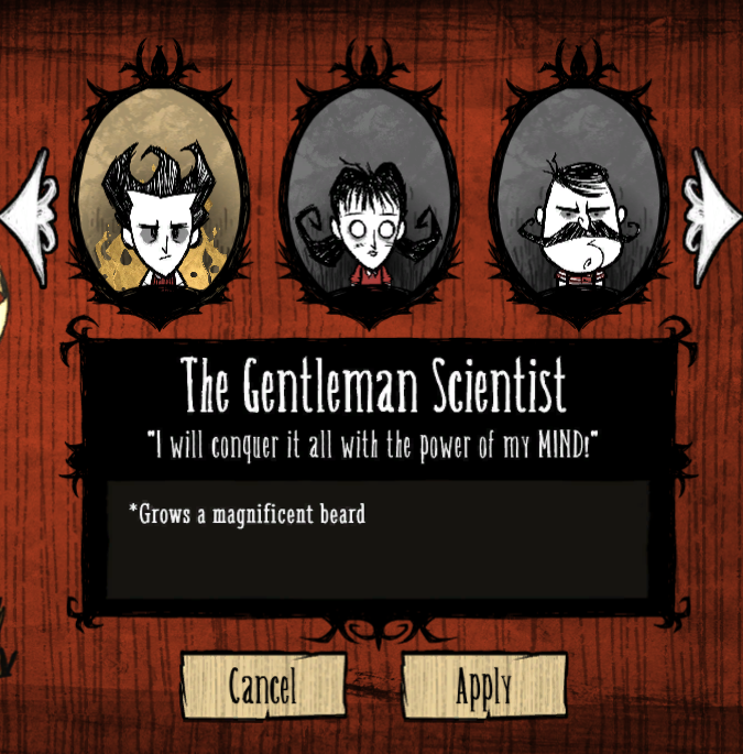 characters dont starve game wiki fandom powered by wikia