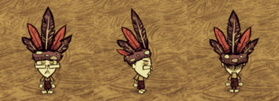 Feather Hat Wickerbottom