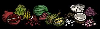 Fruits Crock Pot(No Dragonfruit)