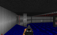 Lost episodes of doom e1m2 red door1