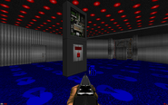 Lost episodes of doom e1m2 blue key