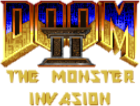 File:Doom II - The Monster Invasion logo.png