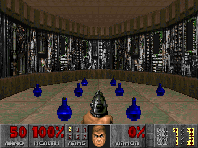 Why does killing enemies result in health and ammo? : Doom