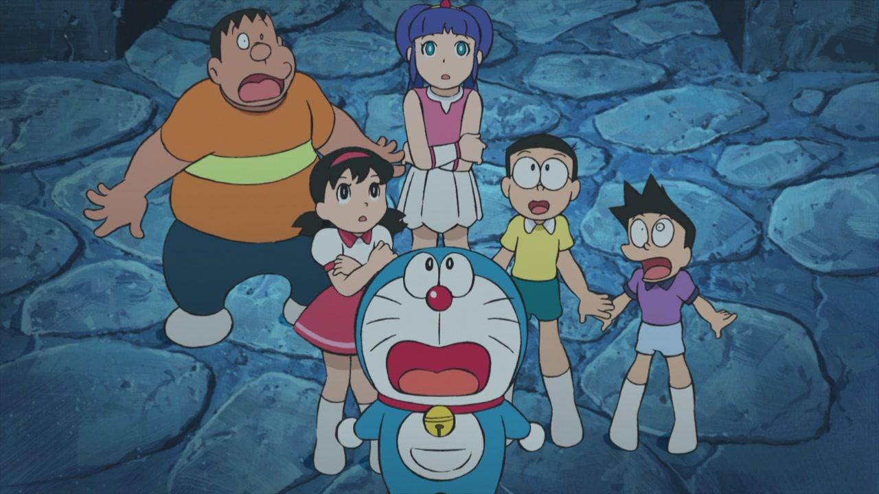 Doraemon 2010 Movie, Nobitas Great Ocean Battle of the