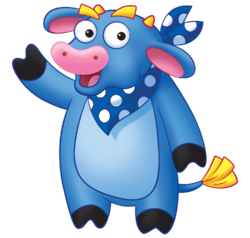 Dora the Explorer Benny the Bull Nickelodeon Nick Jr. Noggin Character Image