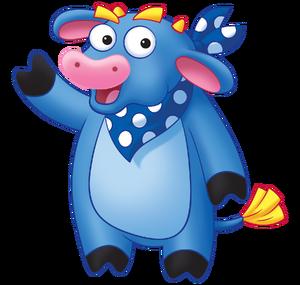 Dora the explorer benny the bull nickelodeon nick jr noggin character