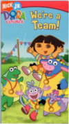 Dora the Explorer We're a Team VHS